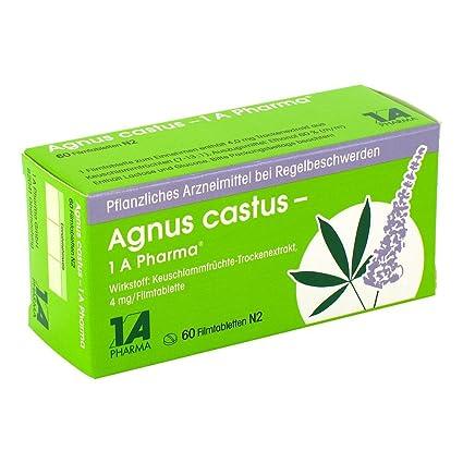 Agnus castus 1A Pharma - Comprimidos recubiertos (60 piezas)