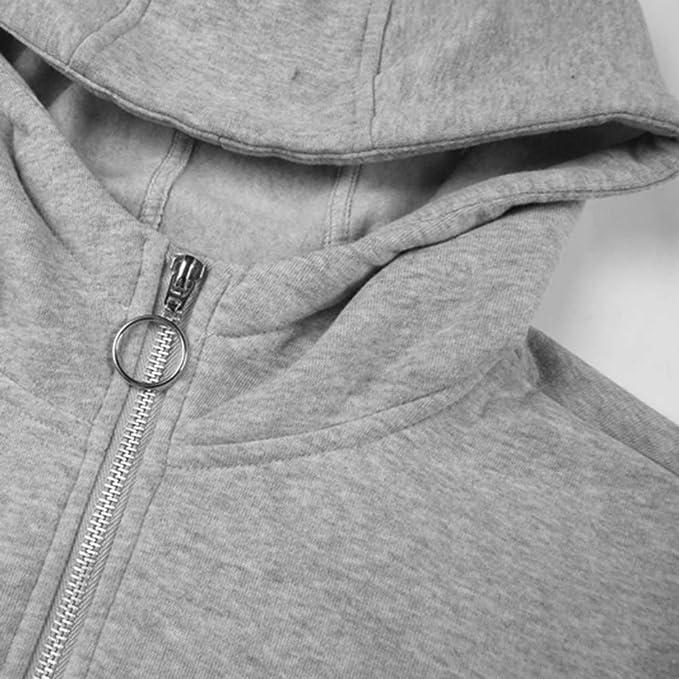 OSTELY Fashion Mens Hooded Coat Casual Plus Size Autumn Winter Long Sleeve Warm Plush Denim Jacket