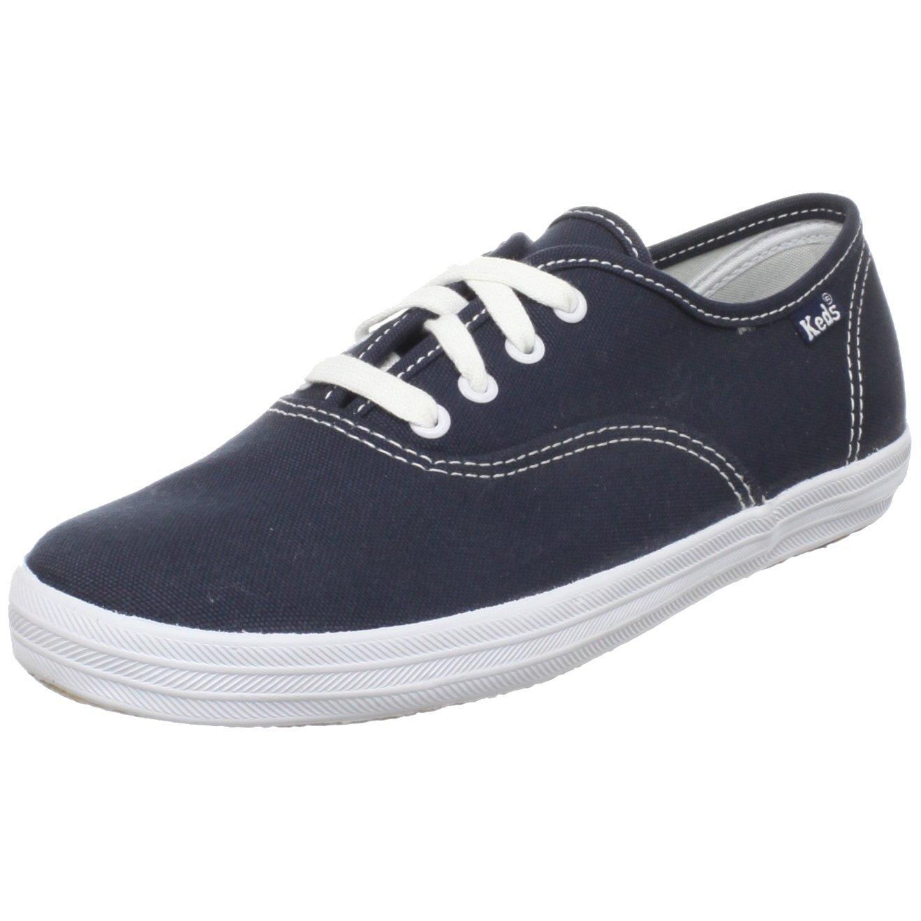 Keds Original Champion CVO Sneaker (Toddler/Little Kid/Big Kid),Navy/White,13.5 M US Little Kid by Keds (Image #1)