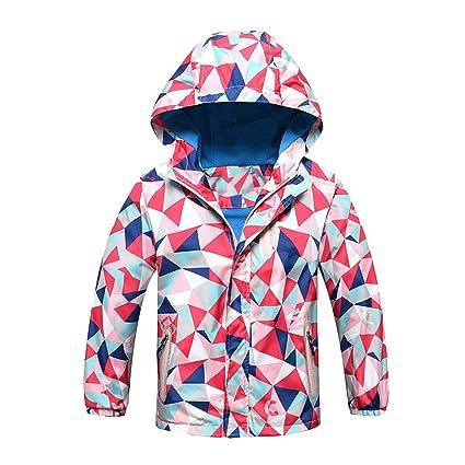 505f5c13ff0 EnjoCho 2018 Autumn Winter Hoodie Children Outerwear Warm Sport Clothes  Waterproof Windproof Boys Girls Jackets Warm