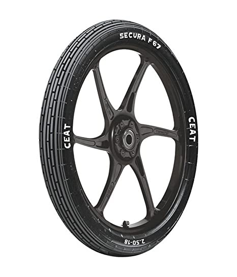 Ceat F67 3.25-19 54P Tube-Type Bike Tyre, Front (Home Delivery)