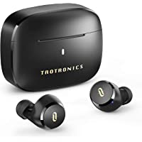 Wireless Earbuds, TaoTronics CVC 8.0 Noise Cancellation Bluetooth Headphones True Wireless Earphones with Qualcomm Chip…