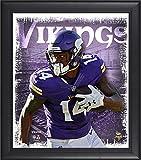 "Best Sports Memorabilia Sports Memorabilia Collage Makers - Stefon Diggs Minnesota Vikings Framed 15"" x 17"" Review"