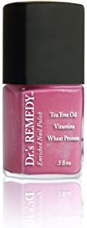 product image for Dr.'s REMEDY Enriched Nail Polish, PLAYFUL Pink, 0.5 Fluid Ounce