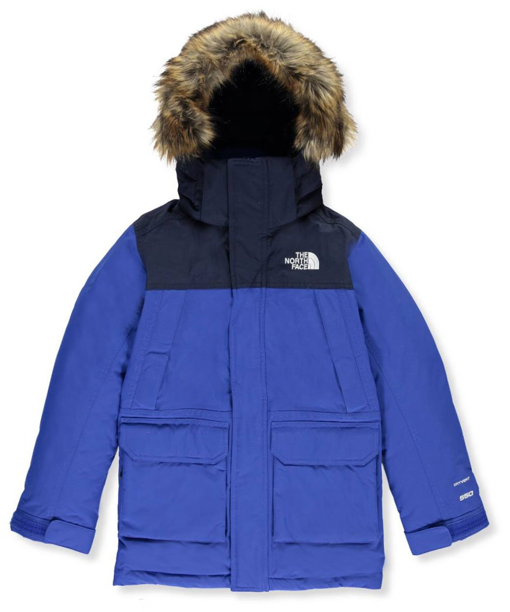 The North Face Big Boys' McMurdo Down Parka - bright cobalt blue, s/7-8 by The North Face
