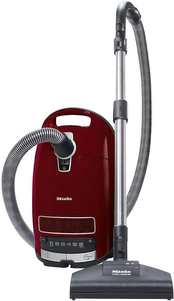 Miele 11085190 C3 - Aspiradora cilíndrica para gatos y perros, color rojo: Amazon.es: Hogar