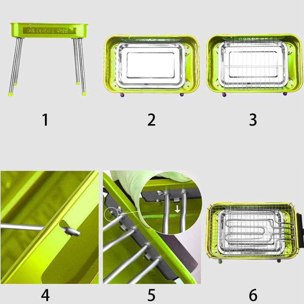 LIDIWEE Elektrogrill 1800W Gartengrill mit Standf/ü/ßen Picknickgrill Portable Camping Grill Abnehmbare Antihaft BBQ Grills f/ür Drau/ßen Garten