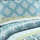 Lush Decor Bohemian Striped Quilt Reversible 3