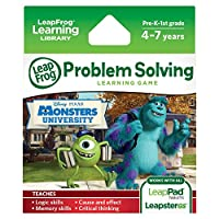 LeapFrog Disney Pixar Monsters University Learning Game (funciona con LeapPad Tablets, LeapsterGS y Leapster Explorer)