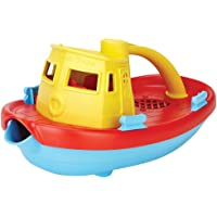 Green Toys TUG01R-Y My First Tugboat Water Play,Yellow