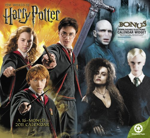 Click for larger image of 2011  Harry Potter, The World of  Wall Calendar