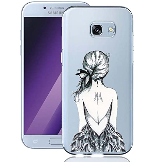 16 opinioni per Galaxy A5 2017 Custodia, ocketcase® Morbido Flessibile TPU Gel Silicone Cover