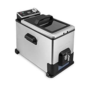 Emeril Deep Fryer with Oil Filtration System
