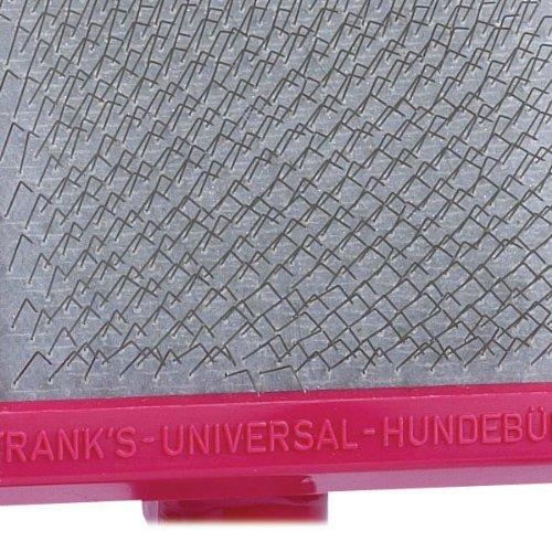 Oscar Frank Grand de Luxery Premium Plastic Handle Pet Slicker Brush, Large, Pink