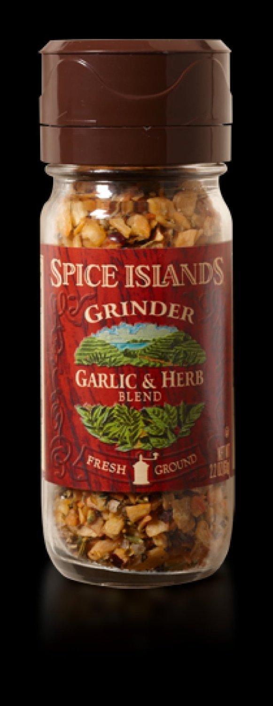 Spice Islands Grinder Garlic & Herb, 2.2 oz (Pack of 3)