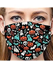 1pc Washable Adult Funny Printed Face Macks Dust-Proof Cotton Health Protection Mouth Cover