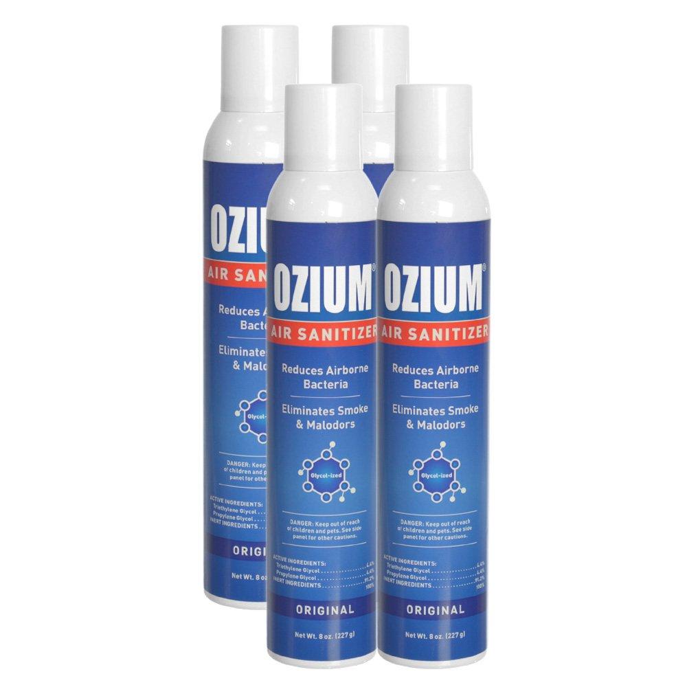 Ozium Air Sanitizer 8 Oz. Spray(4) by Ozium