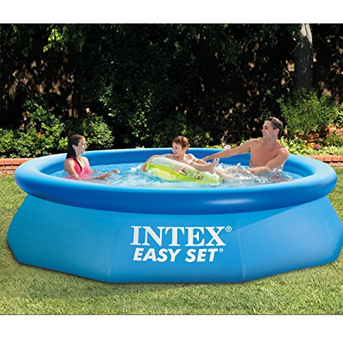 Intex 10 39 X 30 Easy Set Above Ground Inflatable Swimming Pool Import It All