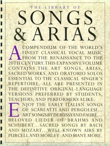 The Library of Songs and Arias