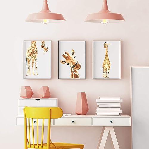 Premium Giraffe Wandposter Fur Kinderzimmer Babyzimmer Poster