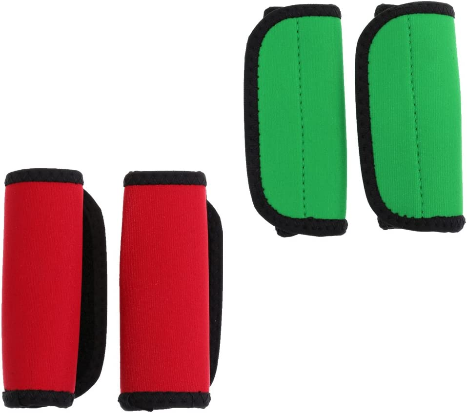 FLAMEER 2 Paar Kajak Kanu Paddelgriffe Mit Befestigungsband Verhindern Blasenbildung