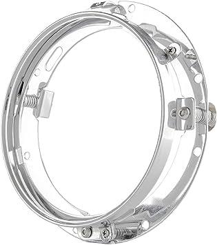 17 8 Cm 7 Zoll Halterung Ring Für 7zoll Led Projektor Kopf Licht Für Harley Davidson Motorrad Chrom Auto