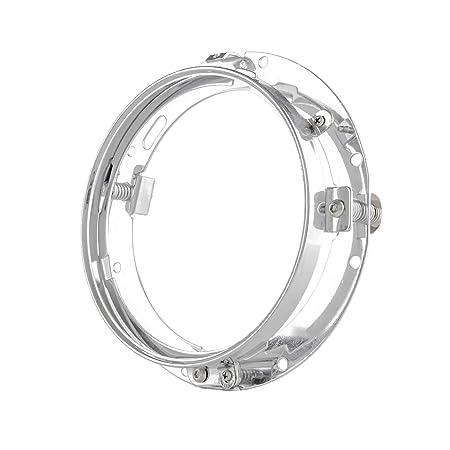 Amazon Com Skuntuguang 7 Inch Chrome Headlight Trim Ring Mounting