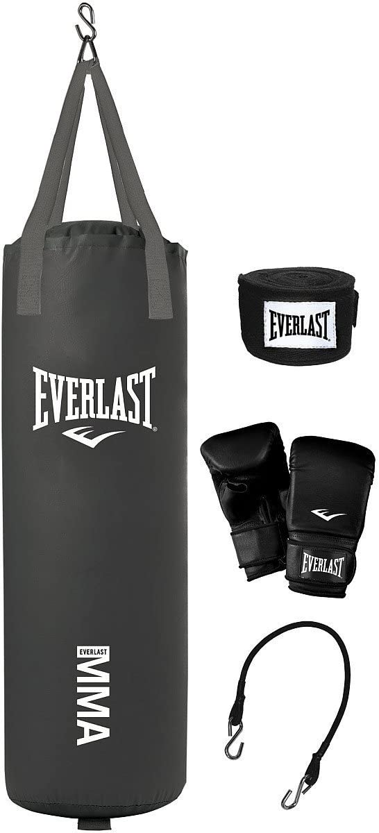 Everlast 70-pound MMA heavy-bagキット