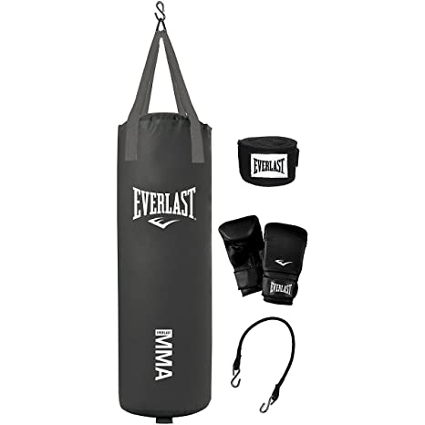 35292da70 Image Unavailable. Image not available for. Colour  Everlast 70-Pound MMA  Heavy-Bag Kit
