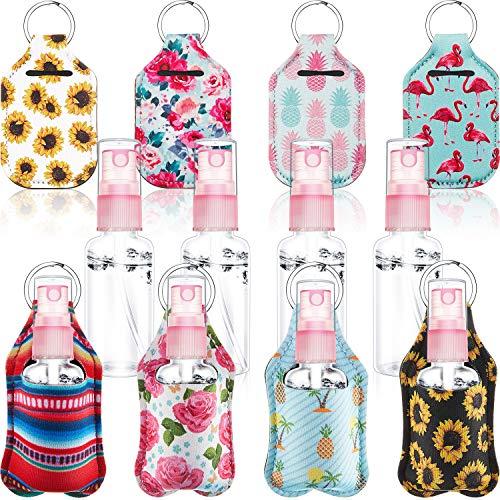 🥇 Set de 16 LlaveroS de Botella de Viaje