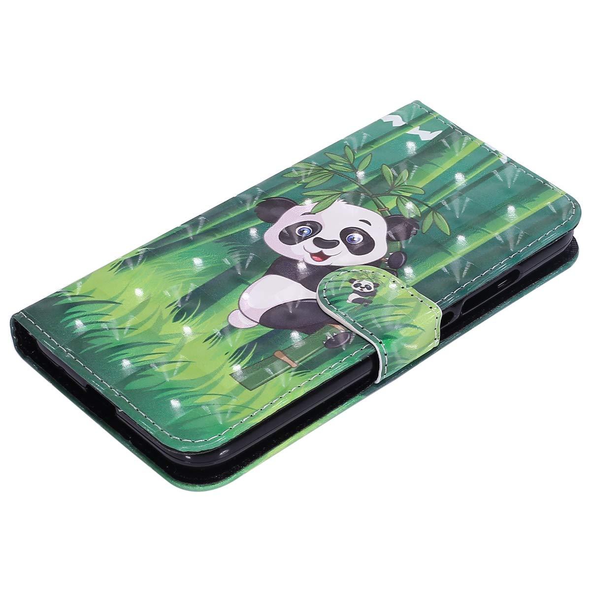 Luxe Belle Color/é Cuir Folio Housse de Protection Ultra Slim Leather Wallet Case Stand Magn/étique Flip Cover JAWSEU Compatible avec Huawei Y3 2017 Coque Portefeuille PU /à Rabat