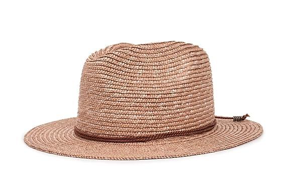 aad139f89c93 ... reduced brixton womens lera fedora hat rose x small a4124 ce2a4