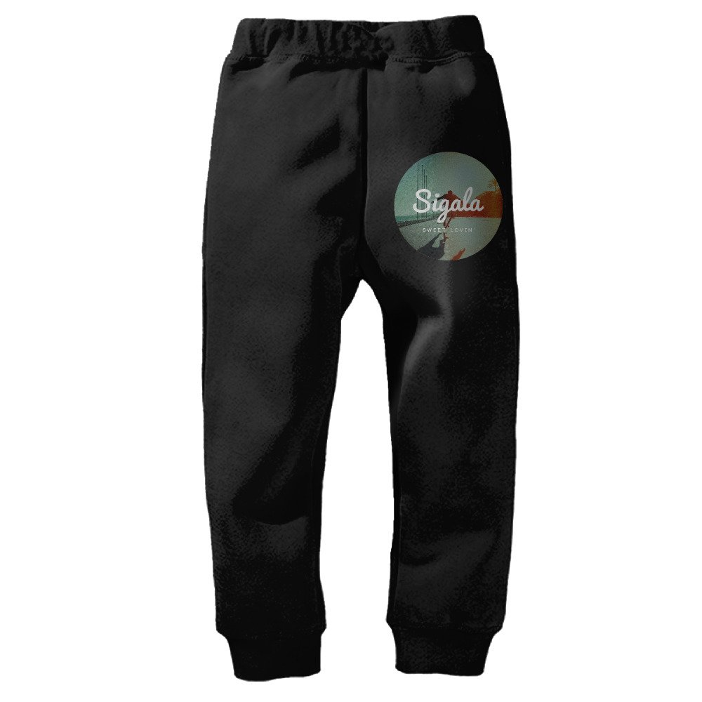 Kids Sigala Sweet Lovin Closed-Bottom Sweatpants