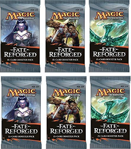 Magic the Gathering Cards - Fate Reforged - Booster Packs (6 Pack Lot) (Fate Reforged Booster Box)