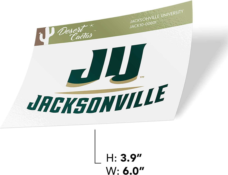 Jacksonville University JU Dolphins NCAA Vinyl Decal Laptop Water Bottle Car Scrapbook Sticker - 00001