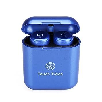 Touch Edition Upgrade True auriculares inalámbricos TWS X3T Mini Bluetooth X2T X1T en auriculares de oído 600mAH caja de carga para Android IOS para ...