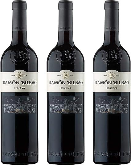 Ramón Bilbao Reserva Vinos - 1260 gr (pack de 6 botellas): Amazon.es: Alimentación y bebidas