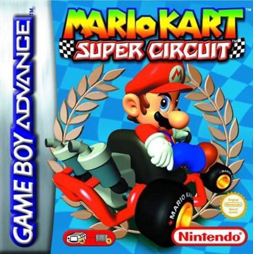 best GameBoy Advance games - mario kart super circuit