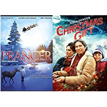 John Denver The Christmas Gift Movie & Prancer the Reindeer Double Feature DVD Magical Bundle Holiday Collection