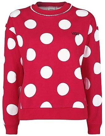 Vans Disney Minnie Boxy Sudadera Mujer Rojo L: Amazon.es: Ropa y accesorios