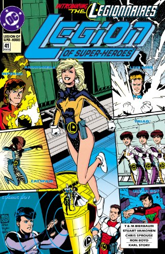 Legion of Super-Heroes (1989-2000) #41