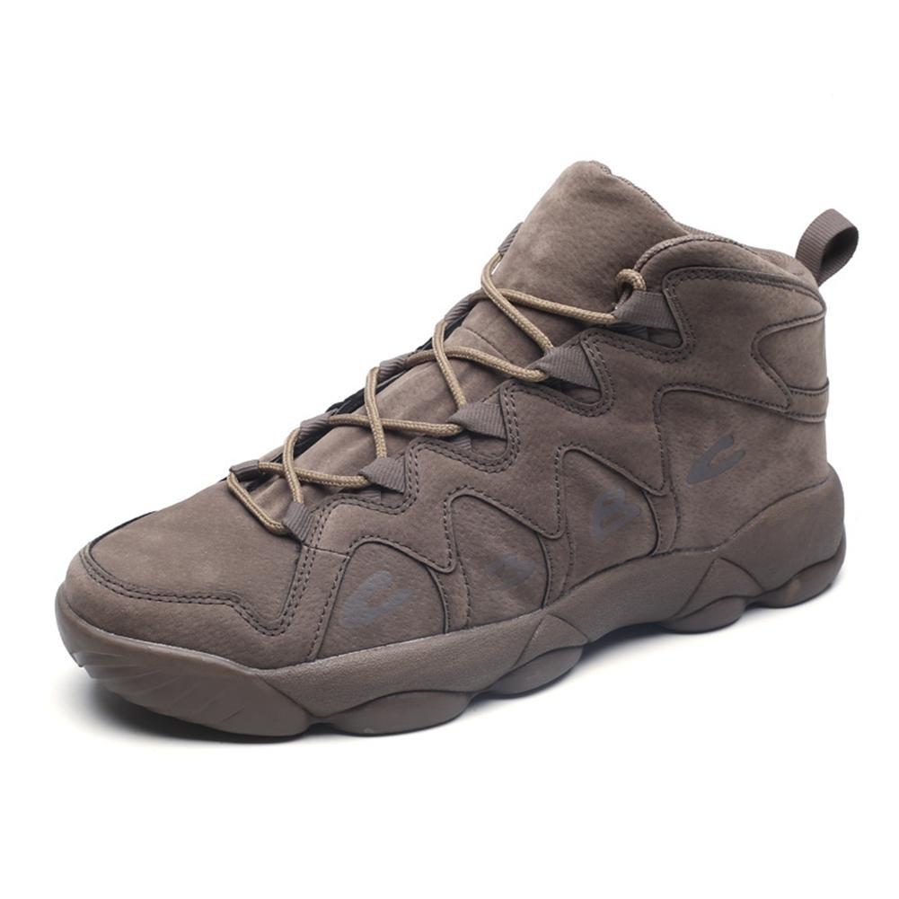 Hombres Hombres Hombres Entrenadores Atl eacute;tico Para caminar Corriendo Gimnasio Zapatos Deportivo Casual Zapato gris Lace Up , Gris , 42 916880