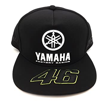 Valentino Rossi VR46 Moto GP M1 Black Line Yamaha gorra Oficial 2017: Amazon.es: Deportes y aire libre