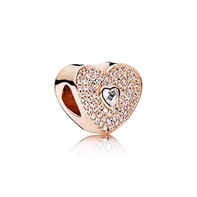 2ad29450f Image Unavailable. Image not available for. Color: Pandora Rose Sweetheart  Charm ...