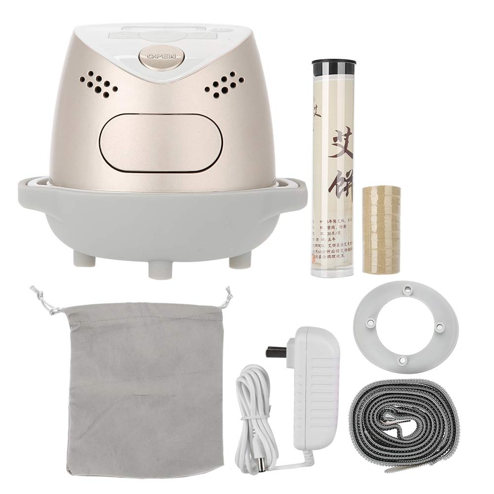 Full Body Massager, 36W Infrared Fumigation Moxibustion Smokeless Portable Smart Body Massage Fumigation Instrument