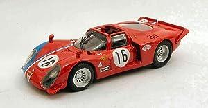 BEST MODEL BT9464 ALFA ROMEO 33.2 SPYDER N.16 RING 1969 PILETTE-SLOTEMAKER 1:43