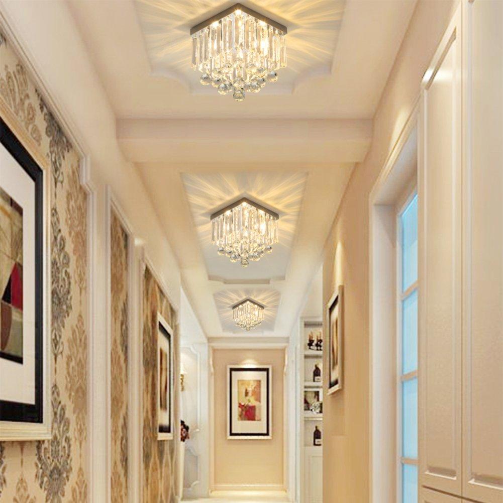 Hsyile KU300114 Modern Simple Ceiling Lamp Square