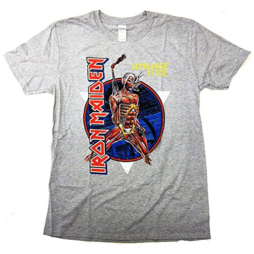 Iron Maiden T Shirt - Somewhere In Time 100% Official xl