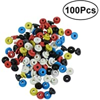 HEALLILY Tattoo Needle Grommets Silicone Tattoo Nipples Tattoo