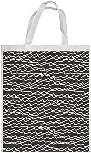 Random lines Printed Shopping bag, Small Size